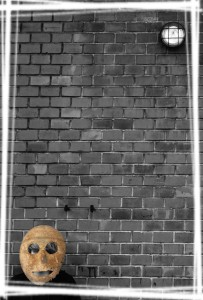 Zeď v cihle